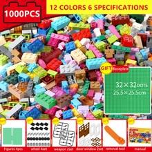 1000Pcs Designer Creative Classic Minecrafted Bricks City DIY Building Blocks Bulk Sets LegoINGLs Educational Toys For Children цены