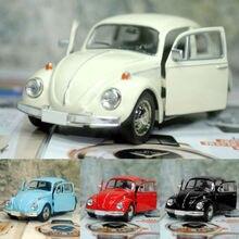 Винтажный жук литья под давлением Вытяните назад модель автомобиля игрушка детский подарок украшения Conveni