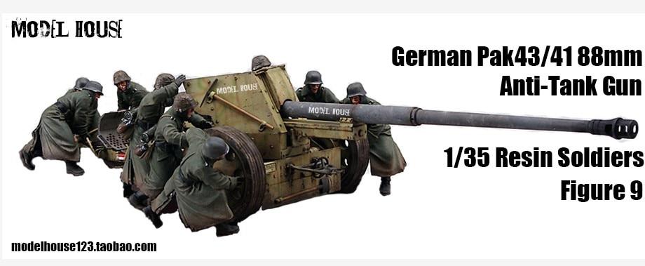 1:35 400 World War II German artillery (9 groups) цепочка german silver 46sm page 9