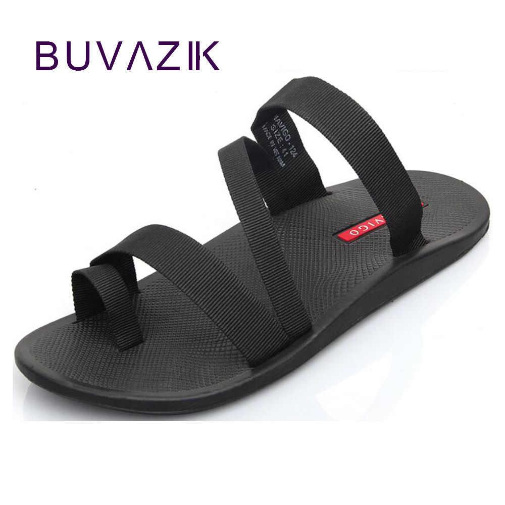 70e085fb1 2018 summer men s sandals fashion man flip flop outdoor beach slippers  non-slip male casual