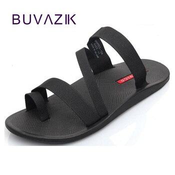 2018 homem do falhanço de aleta dos homens sandálias da moda verão chinelos anti-slip calçados casuais masculinos sandálias de praia ao ar livre grande tamanho 44