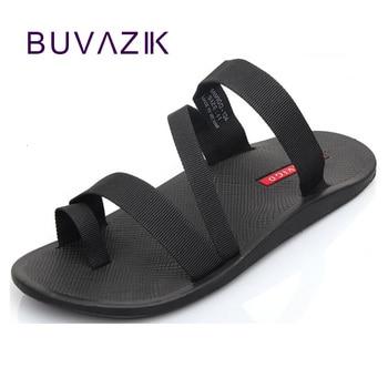 2018 sommer männer sandalen mode mann flip flop außen strand hausschuhe nicht-slip männlichen casual schuhe alias große größe 44