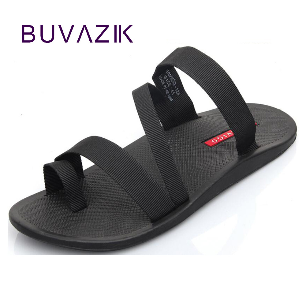 2018 summer men's sandals fashion man flip flop outdoor beach slippers non-slip male casual shoes sandalias large size 44