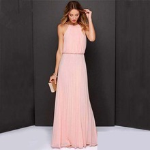 women girl long dress evening dresses beach paty wedding maxi chiffon summer mother daughter flower hot sale
