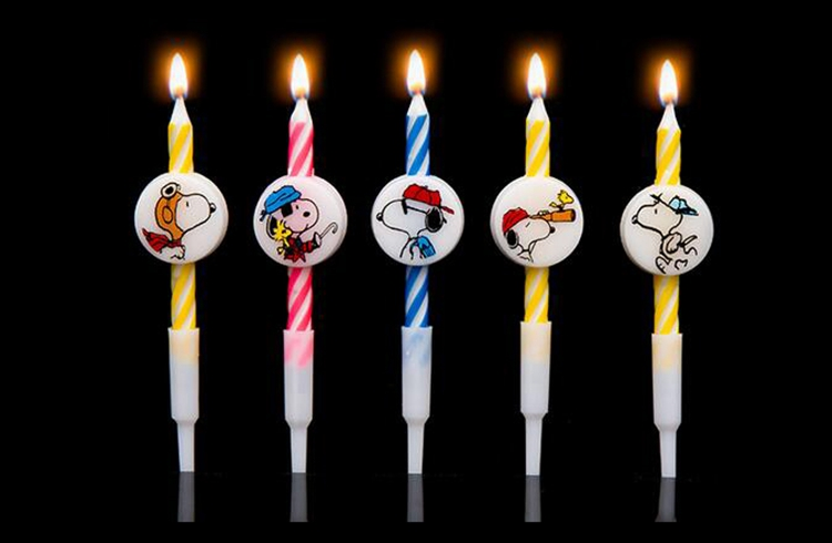 RainLoong Napkins store [RainLoong] New Arrival Art Cattoon Candle For Happy Birthday Party Cake Candle Decoration