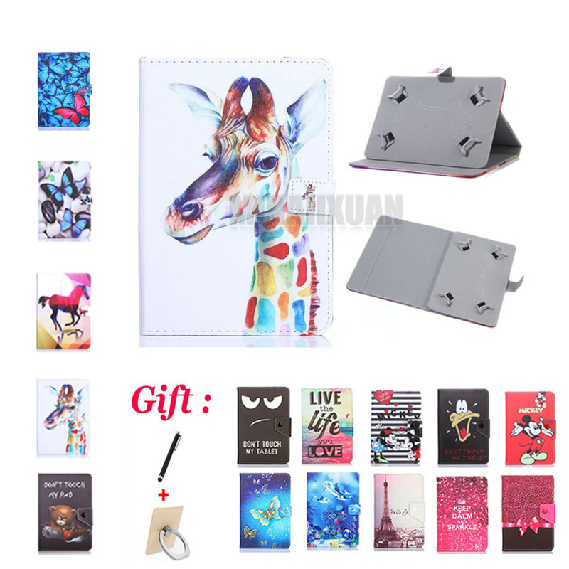 Universal 8.4 inch Printed Pu Leather Stand Case Cover For Samsung Galaxy Tab Pro 8.4 T320 T321 T325 SM-T320 8.4 Tablet +Gifts image