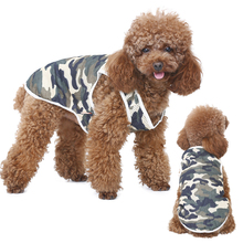HELLOMOON Spring and Summer Dog Clothes Fashion Style Camouflage grid  Teddy Schnauzer Clothing dog summer vest