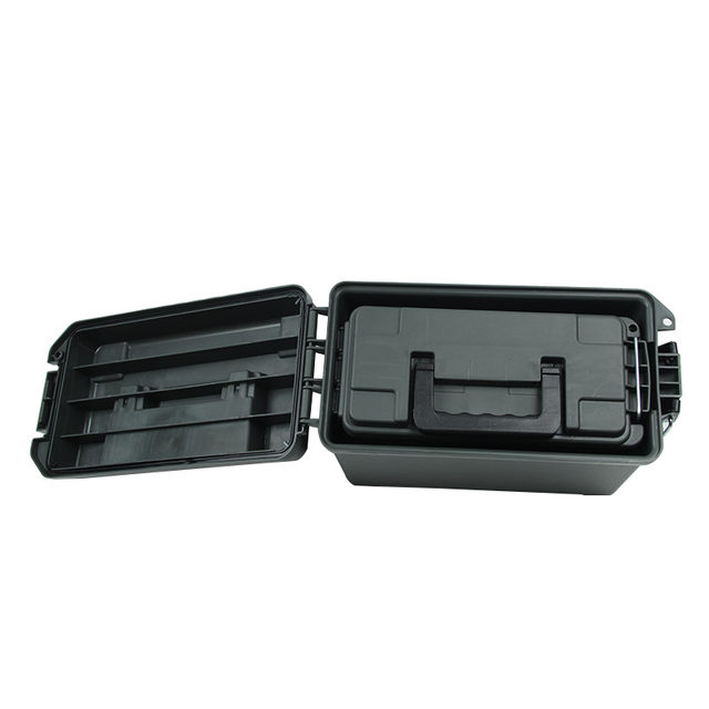 Ammo Box Military Style Plastic Storage Can Heavy Duty Caliber Bulk Ammo Crate for Long Term Storage Tactical Bullet box (6)