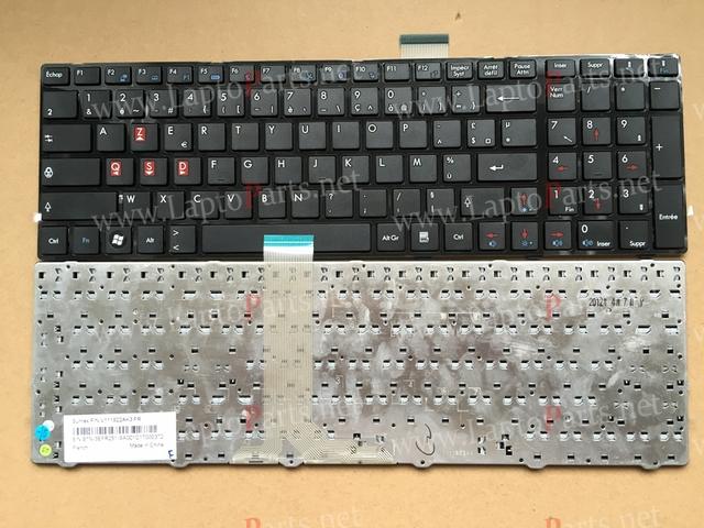 NUEVO Fr Francés teclado Para MSI CR61 MS-1681 CR620 S6000 MS-1736 16GA 16 GB MS16GB MS16GA CX70 CX61 CX705 A6200 teclado