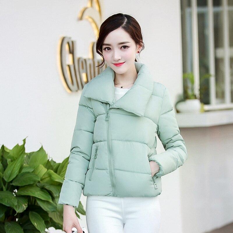 2019 Autumn and winter   parkas   new arrive women's coats short thick cotton female Korean style down fashion jacket wholesale 7864
