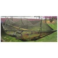Double Person Travel Outdoor Camping Tent Hanging Hammock Bed Mosquito Net Camouflage