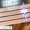 חדש ערכת 6PCS 8LED 85CM LED רצועת תאורה אחורית עבור LG 43UH6030 43UF640 UF64_UHD_A 43LH60FHD 43UF6407 43UH610V 43UH619V 43UH603V-בחרוזי תאורה מתוך פנסים ותאורה באתר