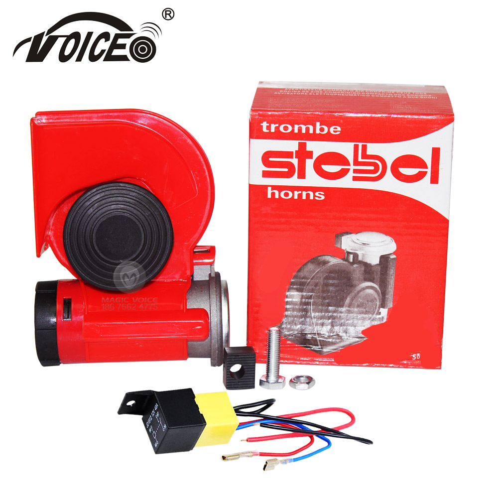 Corne d'air à tuyau unique corne sonore alarme de haut-parleur automatique 12 V pièces de style de voiture