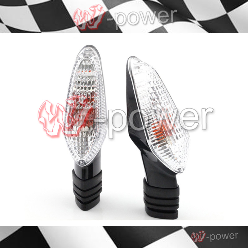 Fite For DUCATI MONSTER 695 696 796 821 1100 1200, Streetfighter 848/1099 Clear Front / Rear Indicator Lights Indicators