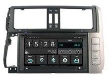 Dvd-плеер GPS навигации мультимедиа для Toyota prado150 2010 2011 головного устройства Стерео с радио Bluetooth Карта Бесплатная задняя камера