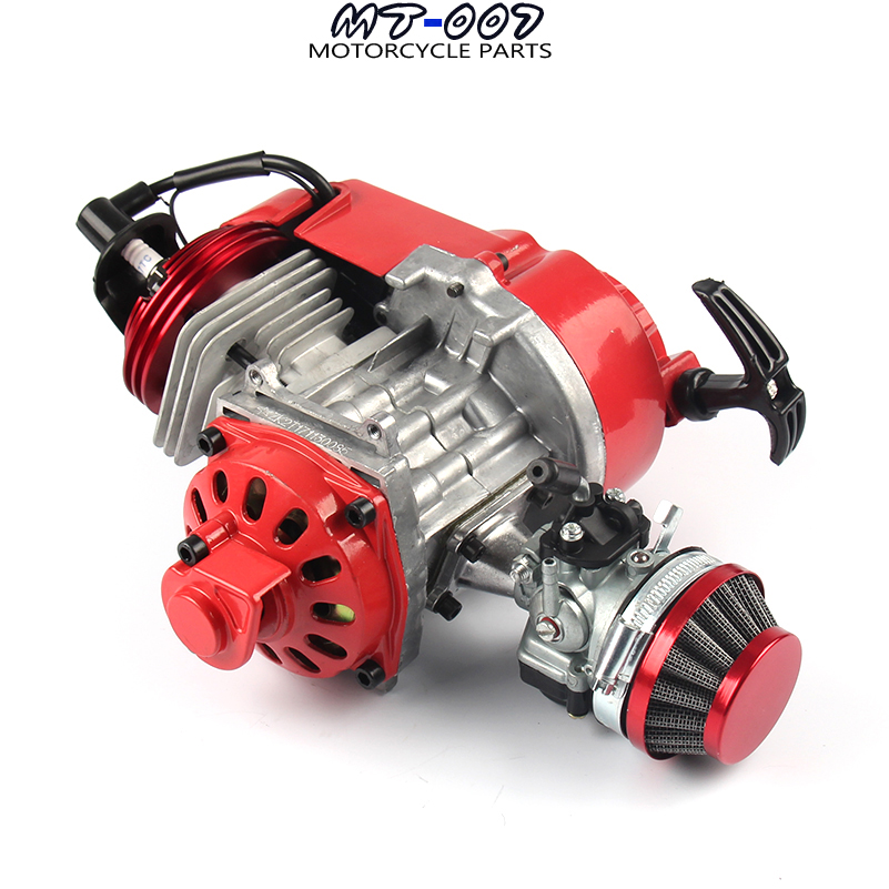 Motorbike Pocket Bike 2 Stroke Pull Start Engine For Mini ...