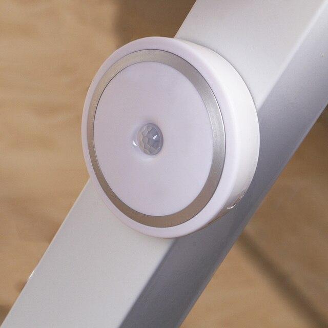 Coquimbo Magnet PIR Motion Activated Night Light Motion sensing Battery Powered LED Stick Anywhere Light Sensor Wardrobe Light