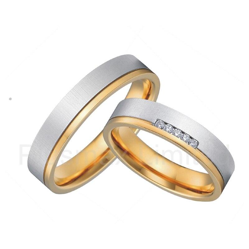 Aliexpresscom Buy titanium wedding rings for men and women