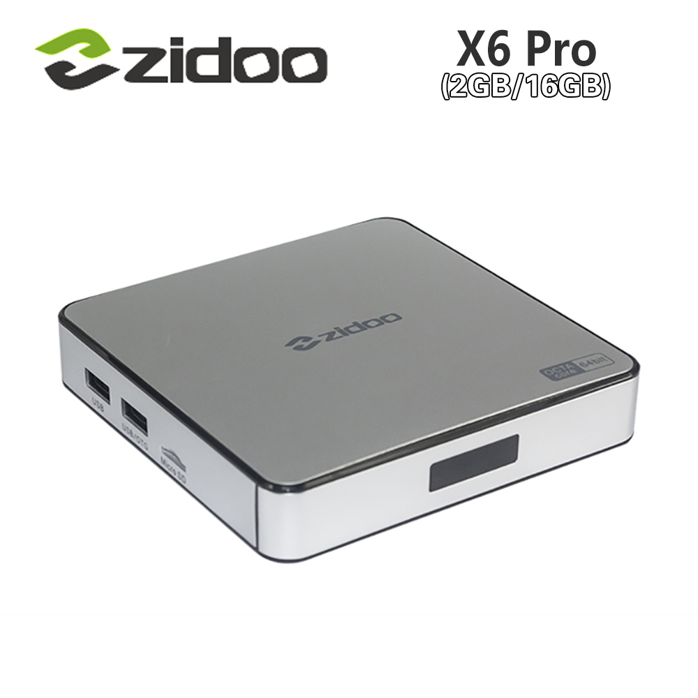 [Genuine]  ZIDOO X6 Pro Android 5.1 TV Box Rockchip RK3368 2GB/16GB Octa Core Cortex-A53 1000M LAN 2.4G/5G Dual WIF4K*2K 3D ZDMC zidoo x6 pro tv box 2g 16g android 5 1 rockchip r3368 wifi bluetooth4 0 1000m ethernet gigabit lan