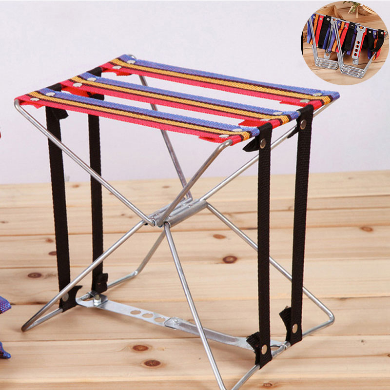 Lightweight Fishing Chair Folding Chair Cloth Super Strength For Outdoor Camping Stool Fishing Tackle Folding Wire Stool