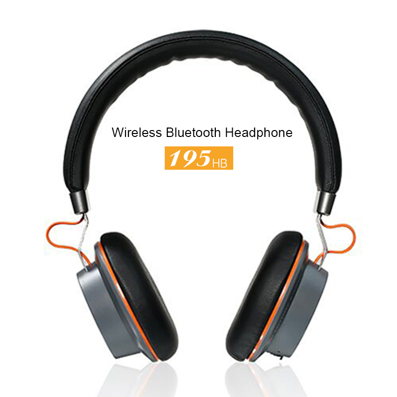 Remax 195HB Wireless Headphones Bluetooth 4.1 Stereo Hands <font><b>Free</b></font> Headset over-ear headphone with mic for Iphone 7 Samsung Xiaomi