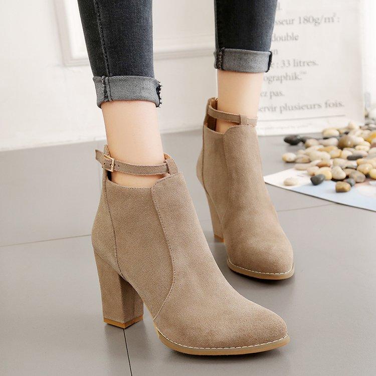 GüNstig Einkaufen Effgt Neue Mode Militär Stiefel Schnalle Künstliche Leder Frauen Schuhe Frauen Ritter Stiefel Flache Stiefel Weiche Casual Frauen Stiefel Frauen Schuhe