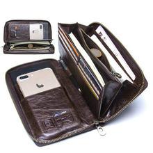 Новый вместительный кошелек с несколькими отделениями для карт