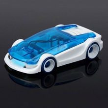 10Pcs/Lot DIY Powered Car Salt Water Driven Hybrid Vehicle Kids Science Learning Toy