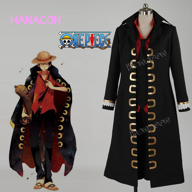 One Piece Film Strong World Cosplay Costume Monkey D Luffy Uniform Costume  Cosplay Outfit Halloween Hot