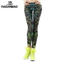 New Arrival 3D Printed Color Women Girls Leggings Ray Fluorescence Leggins Woman KDK1401