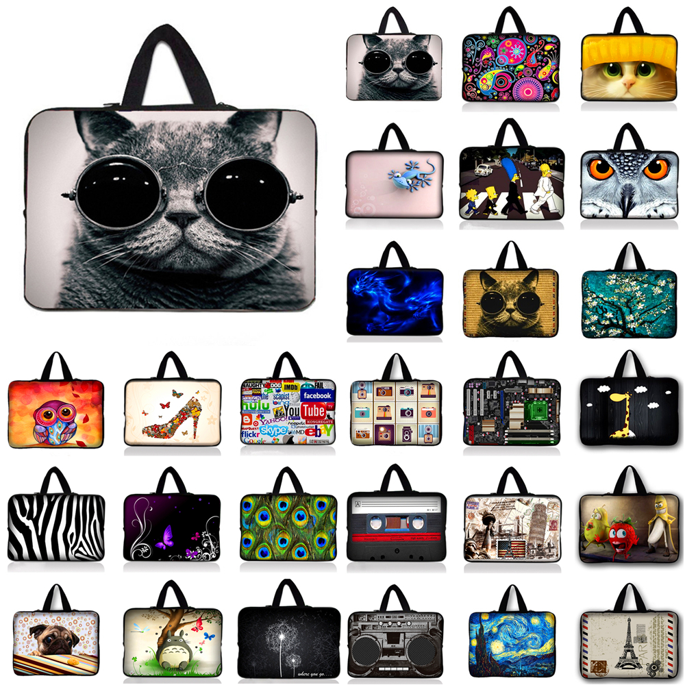 Neoprene Laptop Sleeve Case Bag Cover Pouch For 10 12 13 14 15 17 Notebook For Macbook Air/Pro/Retina For Asus Acer HP #R