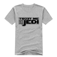 Free shipping Star Wars jedi team leisure cotton T-shirt man tshirt euro size short sleeve O neck t-shirts wholesale crime