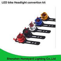 1pcs Silica Gel 2W Rechargeable Ultra Bright Mountain Bike Accessories Bicycle Light Ruby Led Bike Tail