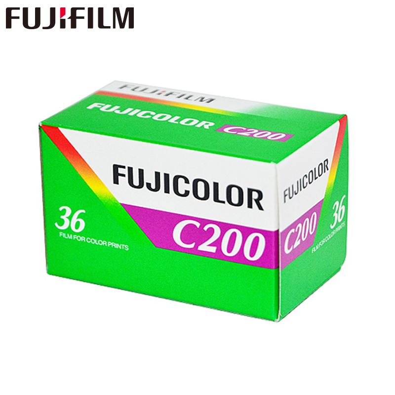 1 pc Fujifilm C200 Color 35mm Film 36 Exposure for 135 Format Camera Lomo Holga 135 BC Lomo Camera Dedicated