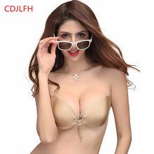 30fa807929e77 Hot Strapless Seamless Push Up Backless Bralette Sexy Bras For Bikini  Wedding Dress Women Silicone Bra Stick On Self Adhesive