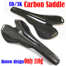 цена на Hot Sale 3K/UD Full Carbon Fiber Bicycle Saddle Road Mtb Bicycle Carbon Saddle Seat for Road Bike MTB Fold Bike