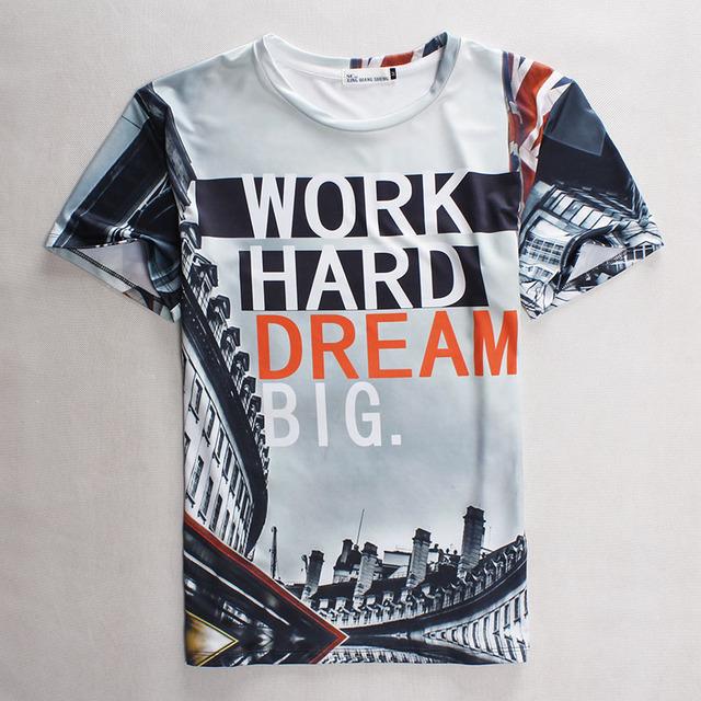 [Amy] 2016 de Moda de verano camiseta de Los Hombres/Mujeres Interesante personalidad de impresión de manga corta camiseta informal 3d marca top tees