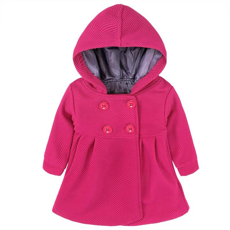 Coat Baby-Girls Winter Clothing Wear Hooded Cute New ZX299 Tops Children's