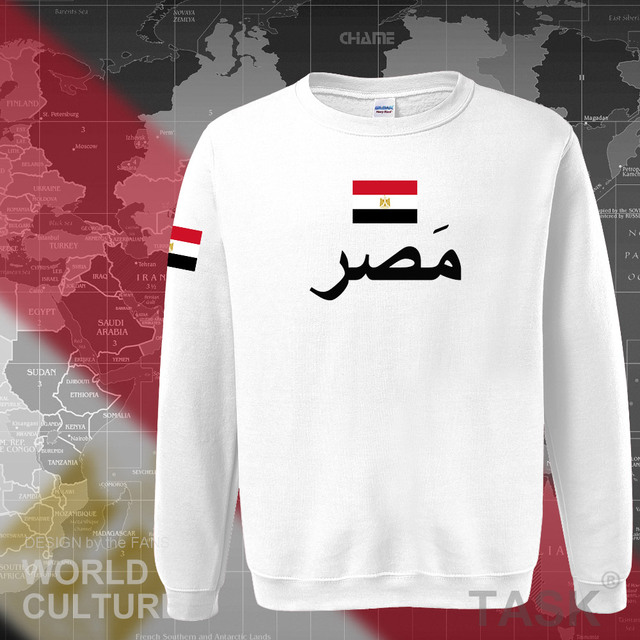 Arab Republic of Egypt hoodies men sweatshirt sweat new hip hop streetwear tracksuit nation footballer sporting EGY Egyptian 4