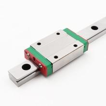 HIWIN MGN15 MGN15C1R1000Z0CM Linear Guideways Rail MGNR15R 1000mm with 1pcs MGN15C Carriage Block CNC DIY 3D printer Miniature