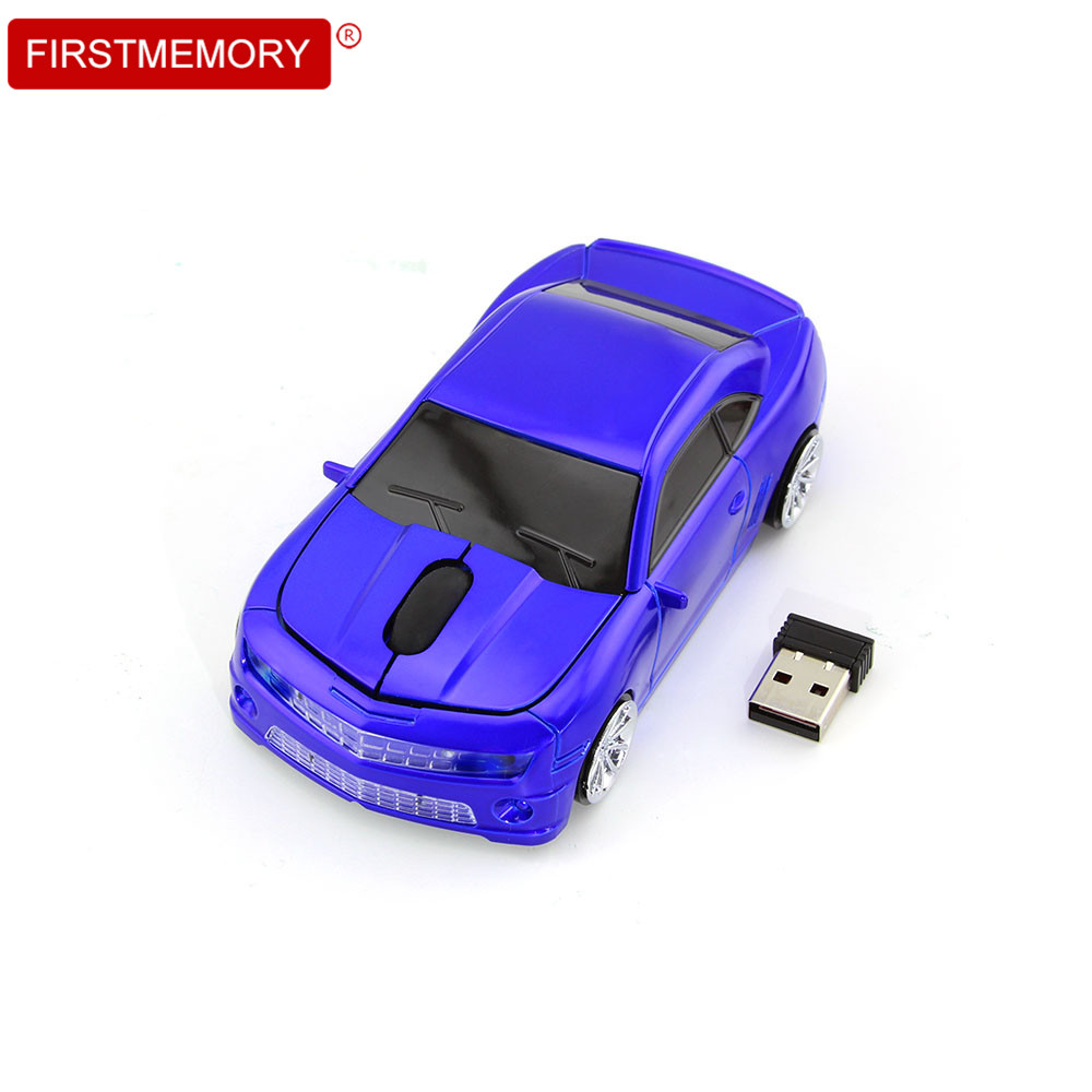 2.4GHz Wireless Car Shape Mouse 1600DPI USB Optical Gaming Mice Fashion Mini Computer Mouse for PC Desktop Laptop Gift