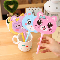 Mixed Colours 50pcs Lot Fan Ball Point Pen Korea Creative Stationery Wholesale Manufacturers Factory Cute Fan