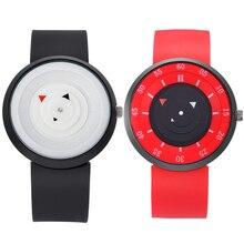 Moda Casal Relógios De Pulso Pulseira de Silicone À Prova D' Água Esporte Relógio Estudante Relógio de Quartzo Dos Homens Das Mulheres Fêmeas Horas