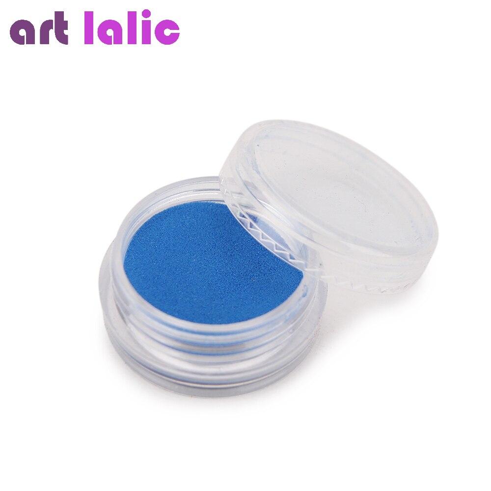 Nail Art 12 Farben Acryl Pulver Staub UV Gel Design 3D Tipps Builder - Nagel Kunst - Foto 4