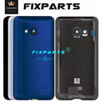 Nuevo Original dorso de metal cubierta para HTC U Play alpino cubierta de la batería puerta trasera de la carcasa 5,2 U jugar con lente de la cámara