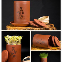 Bean Sprouts Machine Earthenware Jar Household Automatic Bean Sprouts Jars Machine Ecological Soybean Sprouting Without Electric