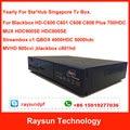 2 clave para Renovar Anualmente Blackbox C600 C601 C608 C808 c801hd 900SE 800SE C1 QBOX 4000hdc 5000hdc Singapur Cable TV caja