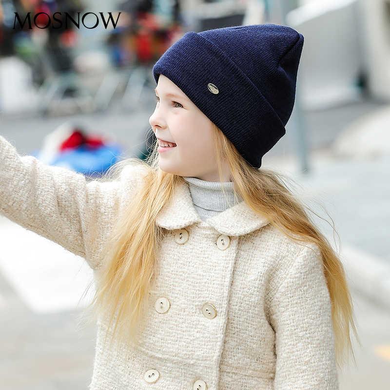 Tampas de inverno das crianças meninos meninas bebê algodão nova marca 2019 moda alta qualidade malha gorro skullies bonnet # mz238c