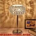 CONDUZIU a lâmpada de cristal/Casamento quarto lâmpada lâmpada de mesa/interruptor de ajuste de luz criativa simples cama lâmpada de mesa de estudo sala de estar