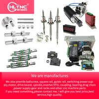 customized CNC Kit mgn 12 sbr10 sbr12 sbr16 sbr20 hgr15 hgh20 linear guide rail rod stepper motor vfd ballscrew sfu1605 sfu2005